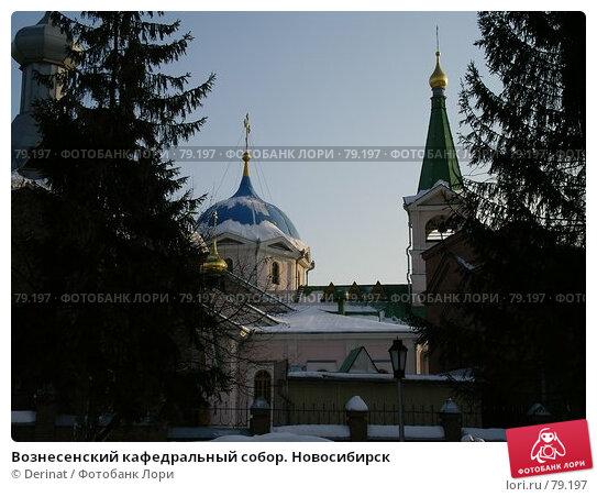 Вознесенский кафедральный собор. Новосибирск, фото № 79197, снято 15 марта 2005 г. (c) Derinat / Фотобанк Лори