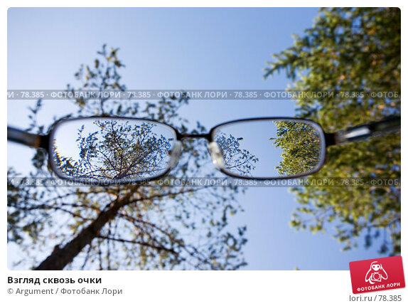 Взгляд сквозь очки, фото № 78385, снято 11 августа 2007 г. (c) Argument / Фотобанк Лори
