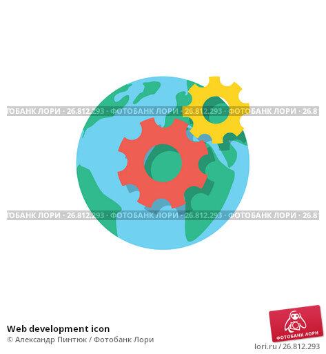 Купить «Web development icon», иллюстрация № 26812293 (c) Александр Пинтюк / Фотобанк Лори