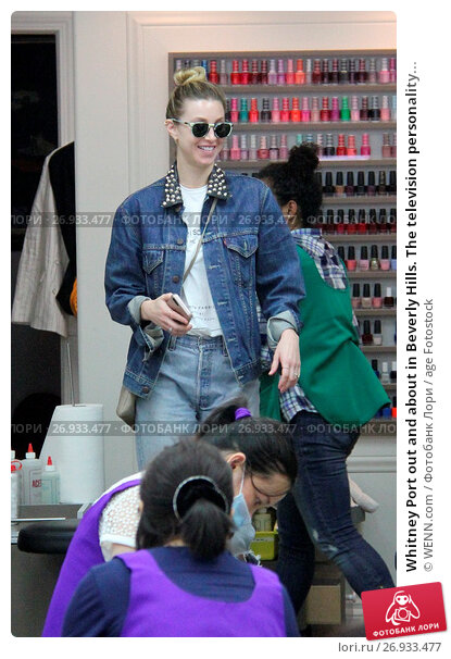 Whitney Port out and about in Beverly Hills. The television personality is seen at Pressed Juicery and stops by a nail salon. Featuring: Whitney Port Where..., фото № 26933477, снято 1 июня 2016 г. (c) age Fotostock / Фотобанк Лори