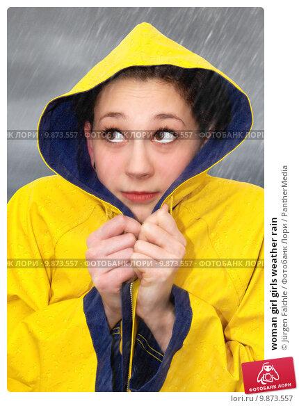 Купить «woman girl girls weather rain», фото № 9873557, снято 19 января 2019 г. (c) PantherMedia / Фотобанк Лори