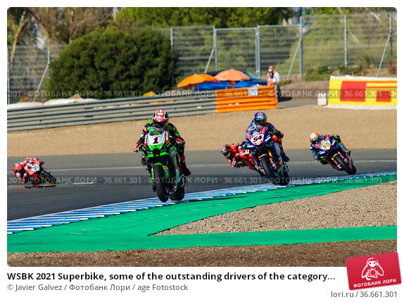 WSBK 2021 Superbike, some of the outstanding drivers of the category... (2019 год). Редакционное фото, фотограф Javier Galvez / age Fotostock / Фотобанк Лори