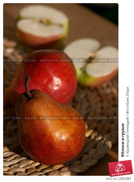 Яблоки и груши, фото № 259881, снято 12 сентября 2004 г. (c) Кравецкий Геннадий / Фотобанк Лори