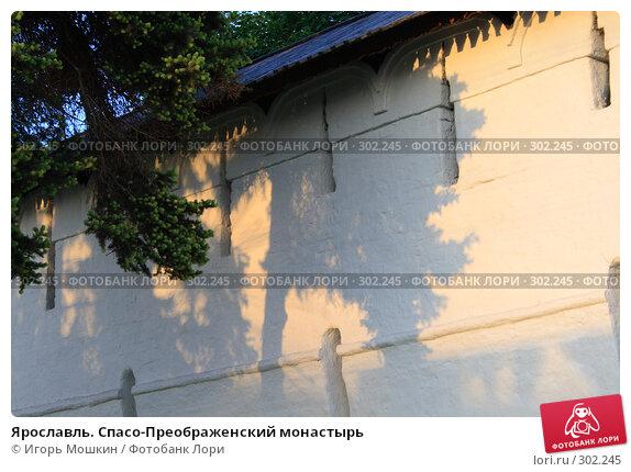 Ярославль. Спасо-Преображенский монастырь, фото № 302245, снято 23 октября 2016 г. (c) Игорь Мошкин / Фотобанк Лори