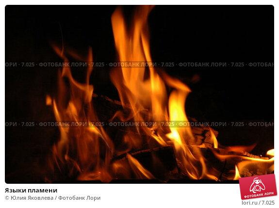 Языки пламени, фото № 7025, снято 23 июля 2006 г. (c) Юлия Яковлева / Фотобанк Лори