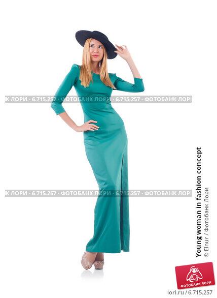 Купить «Young woman in fashion concept», фото № 6715257, снято 8 июля 2013 г. (c) Elnur / Фотобанк Лори