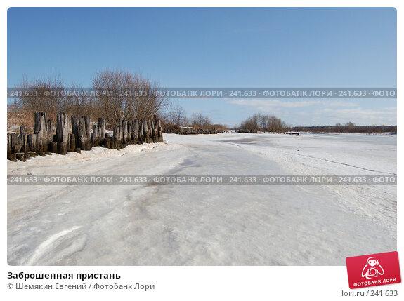Заброшенная пристань, фото № 241633, снято 27 февраля 2017 г. (c) Шемякин Евгений / Фотобанк Лори