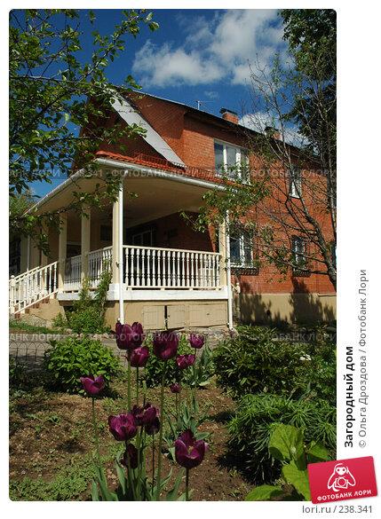 Загородный дом, фото № 238341, снято 1 июня 2006 г. (c) Ольга Дроздова / Фотобанк Лори