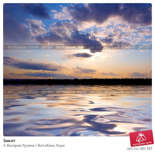 Закат, фото № 281597, снято 25 апреля 2008 г. (c) Валерия Потапова / Фотобанк Лори
