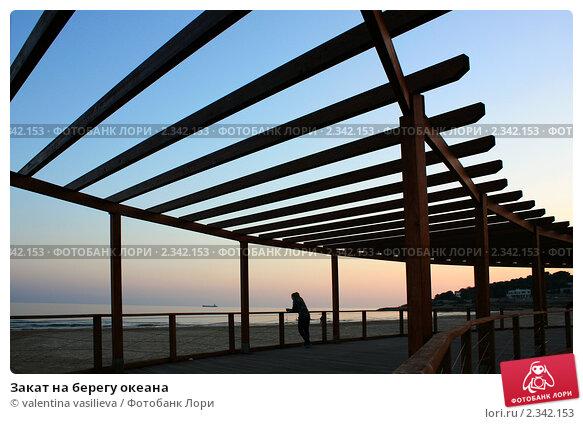 Купить «Закат на берегу океана», фото № 2342153, снято 9 февраля 2011 г. (c) valentina vasilieva / Фотобанк Лори