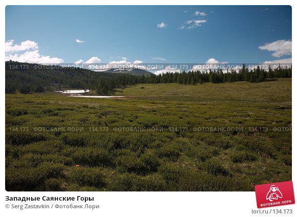 Западные Саянские Горы, фото № 134173, снято 28 июня 2006 г. (c) Serg Zastavkin / Фотобанк Лори
