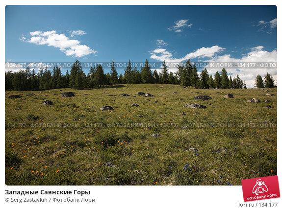 Западные Саянские Горы, фото № 134177, снято 28 июня 2006 г. (c) Serg Zastavkin / Фотобанк Лори