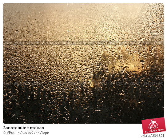 Запотевшее стекло, фото № 234321, снято 19 декабря 2006 г. (c) VPutnik / Фотобанк Лори