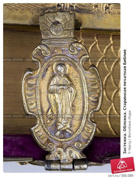 Купить «Застежка. Обложка. Старинная печатная Библия», фото № 300089, снято 17 апреля 2008 г. (c) Harry / Фотобанк Лори
