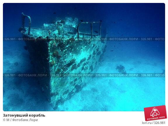Затонувший корабль, фото № 326981, снято 6 декабря 2016 г. (c) Михаил / Фотобанк Лори