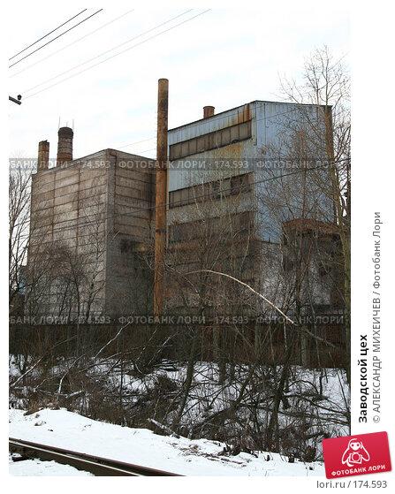 Заводской цех, фото № 174593, снято 13 января 2008 г. (c) АЛЕКСАНДР МИХЕИЧЕВ / Фотобанк Лори