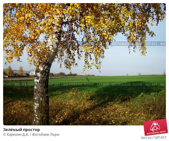 Зелёный простор, фото № 147917, снято 19 октября 2007 г. (c) Карелин Д.А. / Фотобанк Лори