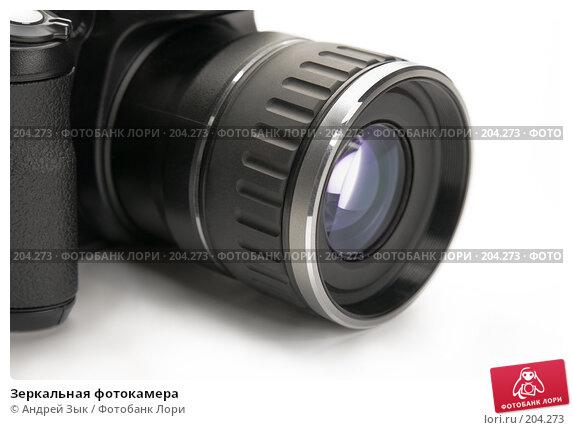 Купить «Зеркальная фотокамера», фото № 204273, снято 26 марта 2007 г. (c) Андрей Зык / Фотобанк Лори