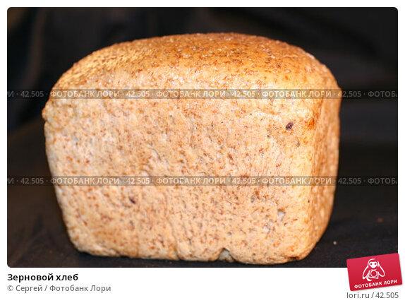 Зерновой хлеб, фото № 42505, снято 8 мая 2007 г. (c) Сергей / Фотобанк Лори