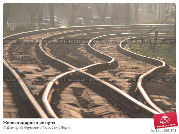 Железнодорожные пути, эксклюзивное фото № 303301, снято 25 октября 2016 г. (c) Дмитрий Неумоин / Фотобанк Лори