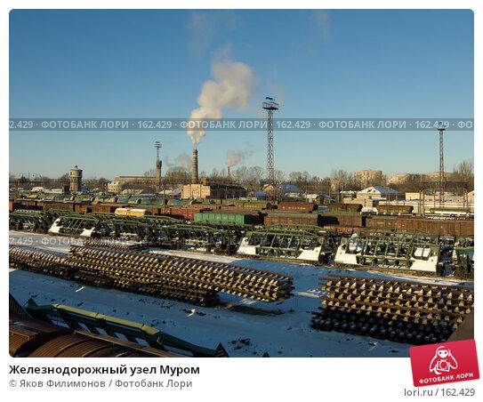 Железнодорожный узел Муром, фото № 162429, снято 23 декабря 2007 г. (c) Яков Филимонов / Фотобанк Лори