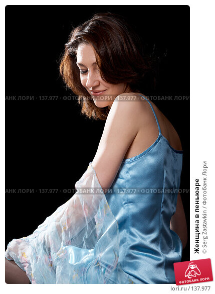 Женщина в пеньюаре, фото № 137977, снято 19 апреля 2007 г. (c) Serg Zastavkin / Фотобанк Лори