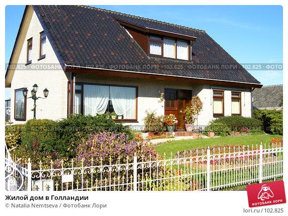 Жилой дом в Голландии, эксклюзивное фото № 102825, снято 30 апреля 2017 г. (c) Natalia Nemtseva / Фотобанк Лори