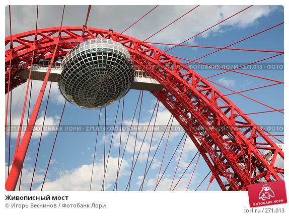 Купить «Живописный мост», фото № 271013, снято 26 апреля 2008 г. (c) Игорь Веснинов / Фотобанк Лори