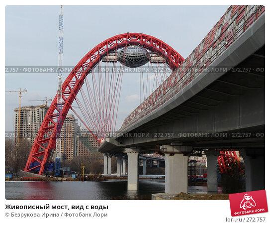 Живописный мост, вид с воды, фото № 272757, снято 22 марта 2008 г. (c) Безрукова Ирина / Фотобанк Лори