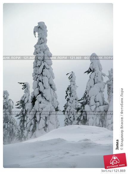Зима, фото № 121869, снято 28 февраля 2007 г. (c) Владимир Власов / Фотобанк Лори