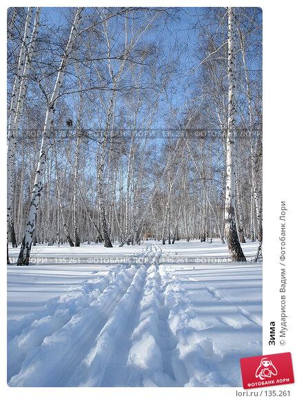 Купить «Зима», фото № 135261, снято 3 марта 2007 г. (c) Мударисов Вадим / Фотобанк Лори