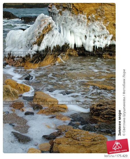 Зимнее море, фото № 175429, снято 8 января 2006 г. (c) Светлана Шушпанова / Фотобанк Лори