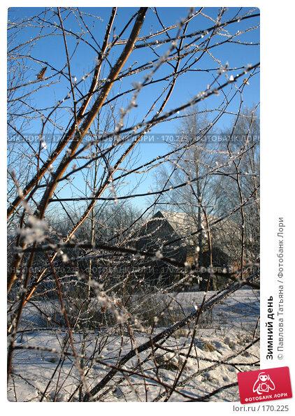 Зимний день, фото № 170225, снято 4 января 2008 г. (c) Павлова Татьяна / Фотобанк Лори