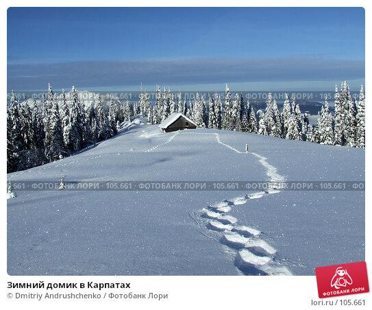 Зимний домик в Карпатах, фото № 105661, снято 15 февраля 2007 г. (c) Dmitriy Andrushchenko / Фотобанк Лори