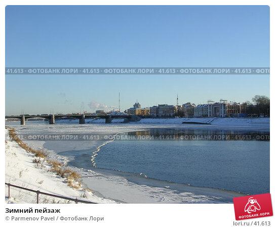 Купить «Зимний пейзаж», фото № 41613, снято 22 ноября 2004 г. (c) Parmenov Pavel / Фотобанк Лори