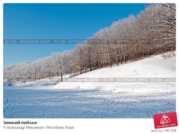 Зимний пейзаж, фото № 141729, снято 31 декабря 2005 г. (c) Александр Максимов / Фотобанк Лори