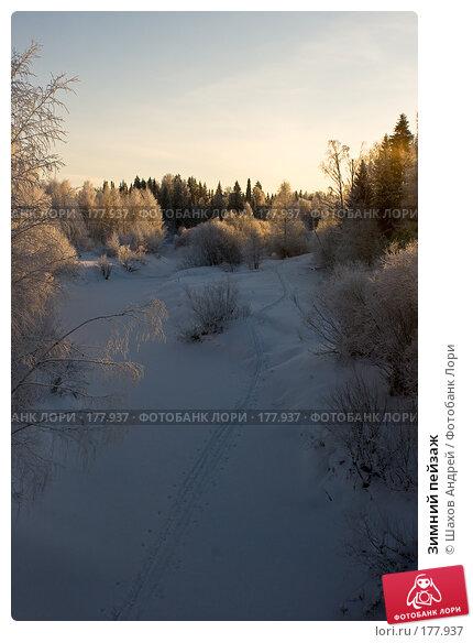 Зимний пейзаж, фото № 177937, снято 9 января 2008 г. (c) Шахов Андрей / Фотобанк Лори