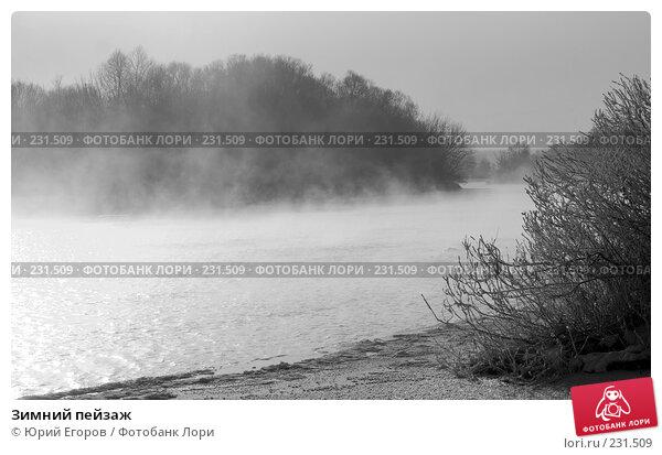 Зимний пейзаж, фото № 231509, снято 2 января 2008 г. (c) Юрий Егоров / Фотобанк Лори