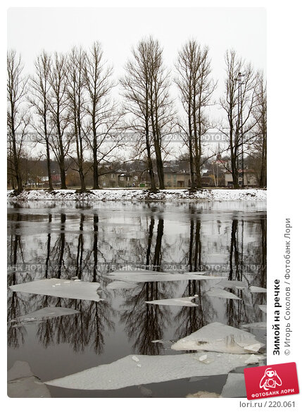 Зимой на речке, фото № 220061, снято 8 марта 2008 г. (c) Игорь Соколов / Фотобанк Лори