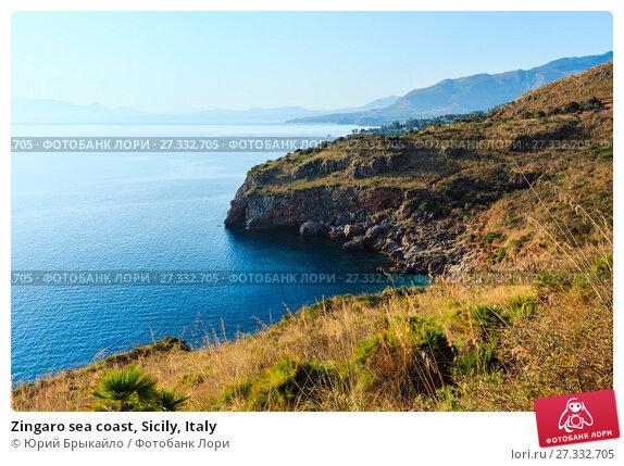 Купить «Zingaro sea coast, Sicily, Italy», фото № 27332705, снято 17 июня 2017 г. (c) Юрий Брыкайло / Фотобанк Лори