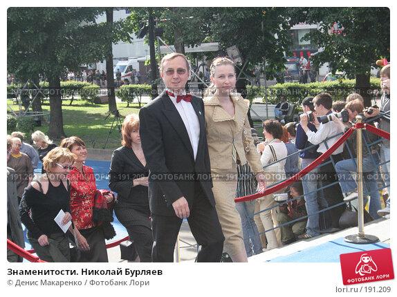 Знаменитости. Николай Бурляев, фото № 191209, снято 2 июля 2006 г. (c) Денис Макаренко / Фотобанк Лори