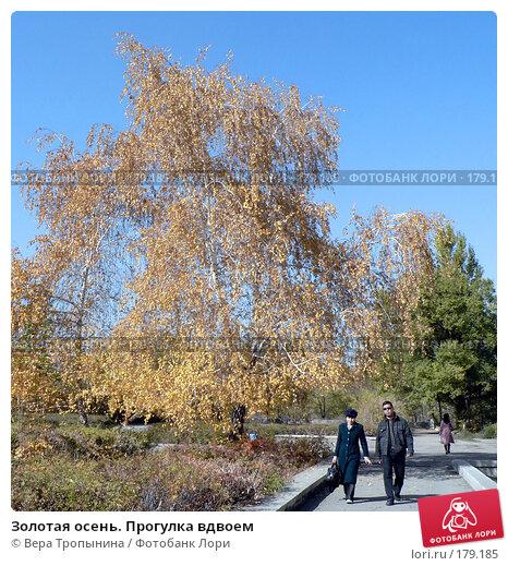 Золотая осень. Прогулка вдвоем, фото № 179185, снято 24 мая 2017 г. (c) Вера Тропынина / Фотобанк Лори