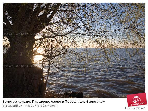 Золотое кольцо. Плещеево озеро в Переславль-Залесском, фото № 333481, снято 27 апреля 2008 г. (c) Валерий Ситников / Фотобанк Лори
